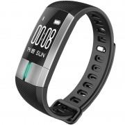 Bratara Fitness iUni G20, Display OLED 0.96 inch, Bluetooth, Pedometru, Notificari, Negru
