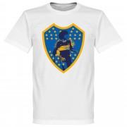 Retake Maradona Boca Crest T-Shirt - weiß - XXXXL
