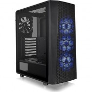Carcasa PC Thermaltake Versa J24 Tempered Glass RGB (CA-1L7-00M1WN-01) , Micro ATX , Mini ITX, ATX, Turnul Midi