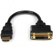 StarTech.com 20cm HDMI naar DVI-D Video Verloopkabel HDMI Mannetje naar DVI Vrouwtje