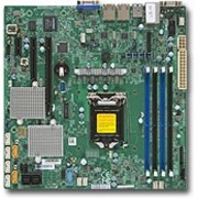 Supermicro X11SSL-CF server-/werkstationmoederbord LGA 1151 (Socket H4) Micro ATX Intel® C232
