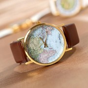 Ceas dama Globe Color Brown