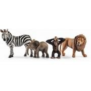 FIGURINA - SET STARTER ANIMALE SALBATICE - SCHLEICH (SL42387)