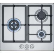 Bosch PGC6B5B90 Placa de gas de 60cm | Acero Inoxidable | Serie 4