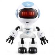 Cecileie JJR R8 Touch Sensing LED Eyes RC Robot Smart Voice DIY Body Gesture Model Toy For Child Gift