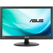 Тъч монитор ASUS VT168H, TN, 15.6 inch, Wide, WXGA, HDMI, D-Sub, Черен