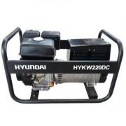 HYKW220DC Hyundai Generator de curent monofazat cu sudura , putere maxima 5.5 kVA