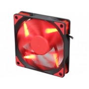 """Cooler DEEPCOOL PC 120x120x25 mm, red LED, PWM, Fluid Dynamic Bearing, MTBF 100.000 ore, pale dual-layer detasabile, """"TF120 RED"""""""