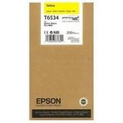 Epson T6534 Patron Yellow 200ml (Eredeti) Stylus Pro 4900