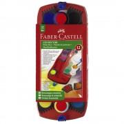 Acuarele 12 culori/set FABER-CASTELL Connector