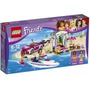 LEGO Friends 41316 Andrein vůz s přívěsem pro člun