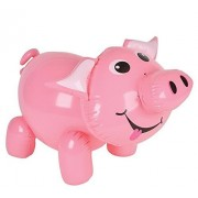 """RINCO Inflatable Pink Pig About 24 """"es in Size"""