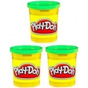 (3 Pack) Bright Green (23843) Hasbro Play-Doh 5 oz. (15 oz. total)