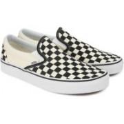 Vans CLASSIC SLIP-ON Loafers For Men(Beige, Black)