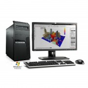 Sistem Lenovo M91 Intel® Core™ i5 8GB 250GB DVD-RW Windows 7 Pro + Monitor 22 inch + Tastatura si mouse