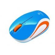LOGITECH M187 Mini Souris Sans fil USB bleu