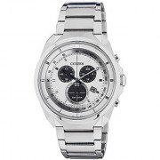Citizen Eco-Drive Analog White Dial Mens Watch AT2150-51A