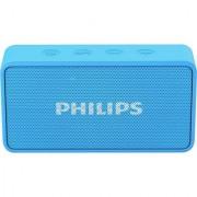 Philips BT64 3 W Portable Bluetooth Speaker (Blue Mono Channel)
