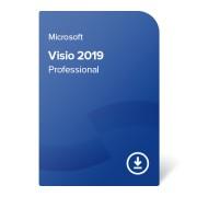 Visio 2019 Professional certificat electronic