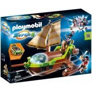 Super 4 - Barca Piratului Cameleon Playmobil