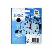 Epson Cartucho de tinta original EPSON 27, Despertador 6,2 ml , Negro, C13T27014022, T2701