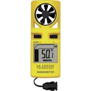Anemómetro portátil digital amarillo EA 3010