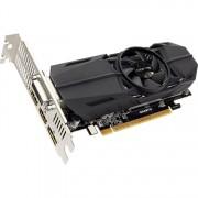 GIGABYTE GeForce GTX 1050 Ti OC Low Profile 4G grafische kaart DVI-D, 2x HDMI, DisplayPort, Low-Profile