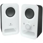 Hangszóró, 2.0, 6W, LOGITECH Z150, fehér (LGHZ150W)