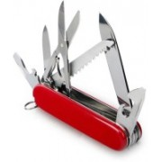 Lavi Multipurpose Silk-Red 11 Swiss Army Knife(Red)