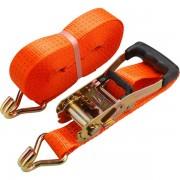 Extol Premium rakományrögzítő gurtni, kampós, max. 4000kg; 10m×50mm, EN12195-2,TÜV/GS 8861155