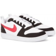 Nike NIKE COURT BOROUGH LOW Sneakers For Men(Black, White)