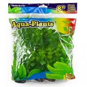 PENN PLAX Umelé rastliny 20,3cm zelené 6ks sada