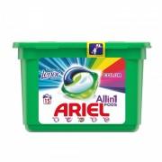 Detergent de rufe Ariel gel capsule Pods Touch of Lenor, 15 capsule x 27 ml