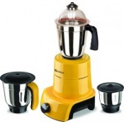 Sunmeet MG17-TAC-Gla-51 800 W Mixer Grinder(Yellow, 3 Jars)