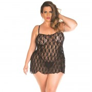 Camisola Gigi Plus Size Pimenta Sexy - ShopSensual