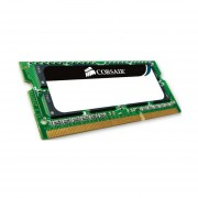 Memoria Ram DDR3 Sodimm Corsair 4 GB 1066 MHz PC3-8500 (CMSA4GX3M1A1066C7) Apple Certified - Verde