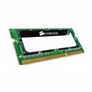Memoria Ram DDR3 Sodimm Corsair 4 GB 1066 MHz PC3-8500 (CMSA4GX3M1A1066C7) Apple Certified - Verde