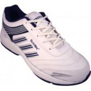 Action White Blue Sport running Shoe -7103 Walking Shoes For Men(White)
