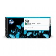 HP INC HP 747 300-ML CHROMATIC GREEN INK
