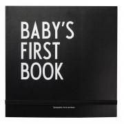 Design Letters Baby´s First Book Köns- och Religionsneutral, Svart