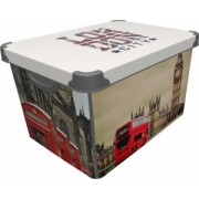 CUTIE DEPO LONDON 20 L, dimensiuni 39x29x23.5 cm
