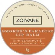 Zoivane Men Smoker's Paradise Lip Balm For DARK LIPS - White / Bees Wax / Lip Balm