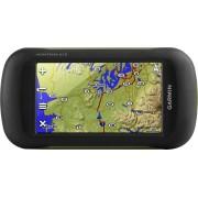 "Garmin - Montana 610 4"" Handheld GPS - Black/Green"