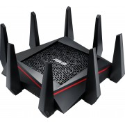 Asus RT-AC5300 Wireless AC5300 Tri-band Gigabit Router 802.11ac, 2167Mbps + 2167Mbps (5GHz-1 and 5GHz-2) 802.11n, 1000Mbps (2.4GHz) 8 antenne staccabili