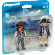 Set figurine Playmobil - Soldat si Pirat inarmat