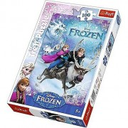 Puzzle Frozen, 100de piese