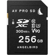 ANGELBIRD Cartão SDXC AV PRO UHS-II 256GB 300MB/s Class 10