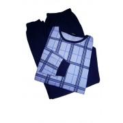 Tristan pánské pyžamo - dlouhé AH 6804 XL modrá