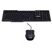 ProDot kb-207s Black USB Wired Keyboard Mouse Combo
