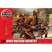 WWII Russian Infantry figura makett Airfix A01717